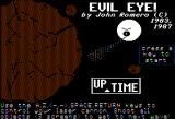 Evil Eye Apple II Title screen
