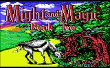 Might and Magic II: Gates to Another World Commodore 64 Title screen