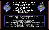 Might and Magic II: Gates to Another World Commodore 64 Credits screen