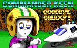 Commander Keen 4: Secret of the Oracle DOS Title screen (EGA)