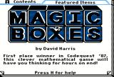 Magic Boxes Apple II Softdisk issue help text