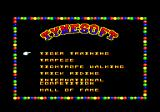 Circus Games Amstrad CPC Select what to perform