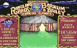 Circus Games Commodore 64 Title screen
