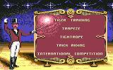 Circus Games Commodore 64 Select what to perform