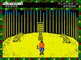 Circus Games ZX Spectrum Tiger training