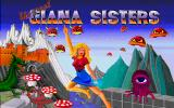 The Great Giana Sisters Amiga Title screen