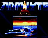 Armalyte: The Final Run Amiga Title screen