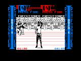 Pit-Fighter Amstrad CPC Executioner wins the match
