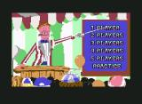 Fiendish Freddy's Big Top O' Fun Commodore 64 The main menu