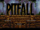 Pitfall: The Mayan Adventure Jaguar Title screen