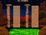 Mutant Penguins DOS High scores