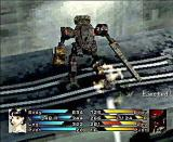 Front Mission 3 PlayStation enemy pilot ejected