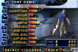 Tony Hawk's Pro Skater 2 Game Boy Advance Skater's Stats!
