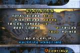Tony Hawk's Pro Skater 2 Game Boy Advance Run Stats