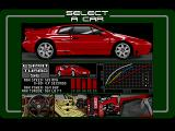 Lotus: The Ultimate Challenge Amiga Esprit Turbo SE