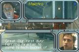 Wing Commander: Prophecy Game Boy Advance Casey joins the dialog