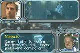 Wing Commander: Prophecy Game Boy Advance First briefing. Maverik makes his appearance