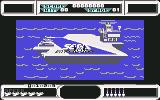 After Burner Commodore 64 Launching from the carrier (UK version)
