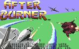 After Burner Commodore 64 Title screen (US version)
