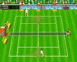 Center Court Tennis Amiga Playing on grass