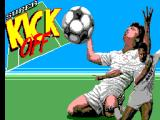 Super Kick Off SEGA Master System Title Screen