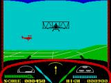 Deep Strike ZX Spectrum In the air, with a red target in front