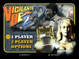 Vigilante 8: 2nd Offense PlayStation Main menu.