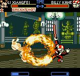 Fatal Fury: First Contact Neo Geo Pocket Color Xiangfei's attempt of annul Billy's Chou Kaen Senpuu Kon fails: his super move is more powerful...