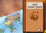 WWF Panda Junior Windows Title screen