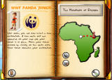 WWF Panda Junior Windows Upon solving all puzzles in a certain country, new regions are made available.