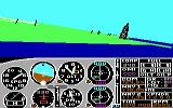 Microsoft Flight Simulator (v2.0) PC Booter And we're airborne... (PCjr)