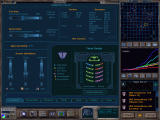 Galactic Civilizations Windows The Domestic Policy screen, where the player can adjust government spending, view the structure of the Earth Senate and keep an eye on the ever important approval rating.