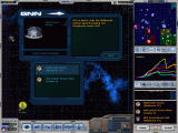 Galactic Civilizations Windows GNN reports at the beginning of the turn on what's been built.