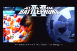 Star Wars: Battlefront II PlayStation 2 Title screen