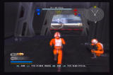 Star Wars: Battlefront II PlayStation 2 Rebel pilots head toward the hangar bay, ready for battle