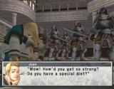Suikoden III PlayStation 2 Game engine cutscene