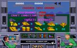 Airstrike USA Amiga Mission debriefing