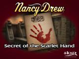 Nancy Drew: Secret of the Scarlet Hand Windows Title Screen