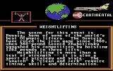 World Games Commodore 64 Description of a discipline