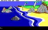 King's Quest II: Romancing the Throne DOS King Graham encounters a mermaid