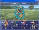 RPG Maker XP Windows A sample fight