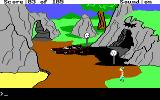 King's Quest II: Romancing the Throne DOS Holy Dark Crusader! Is that what I think it is?