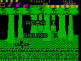 Wonder Boy ZX Spectrum Area 1, Round 1