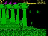 Wonder Boy ZX Spectrum Avoid these guys but get that fruit