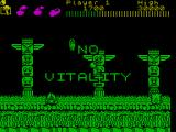 Wonder Boy ZX Spectrum I ran out of vitality