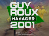 Alex Ferguson's Player Manager 2001 PlayStation Title screen (French version)