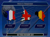 Alex Ferguson's Player Manager 2001 PlayStation Select the country where you want to become a manager.
