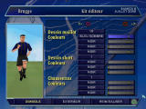 Alex Ferguson's Player Manager 2001 PlayStation Create a custom design for your players' kits (French version).