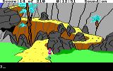 King's Quest III: To Heir is Human DOS After negotiating with the treacherous path of the mountain