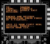 Stealth ATF NES Mission 1 briefing